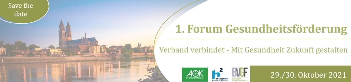 Forum Gesundheitsförderung